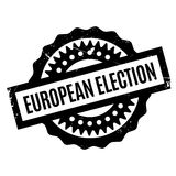 European Election rubber stamp Stock Images