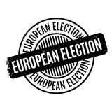 European Election rubber stamp Stock Photos
