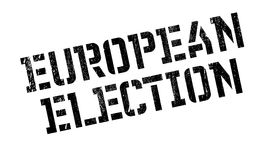 European Election rubber stamp Royalty Free Stock Images