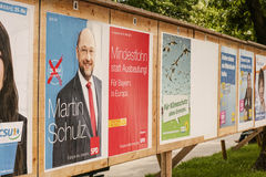 European elections 2014 in germany Stock Photo