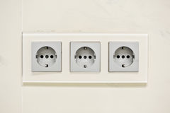 European electric outlet Stock Image