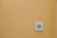 European electric socket Royalty Free Stock Photography