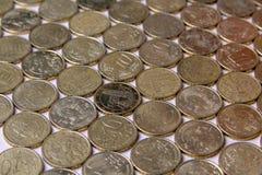 European euro coins. Italy money still life royalty free stock photos