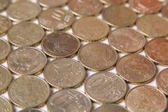 European euro coins. Italy money still life stock photo