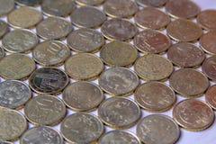 European euro coins. Italy money still life royalty free stock image