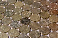 European euro coins. Italy money still life royalty free stock photo
