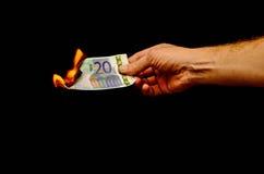 European Euro Money Banknote Royalty Free Stock Photos