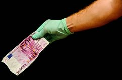 European Euro Money Banknote Royalty Free Stock Images