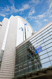 European Europen parlament, Brussels Royalty Free Stock Photography