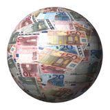 European Euros sphere Stock Photo