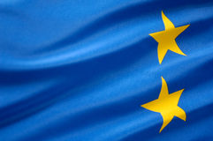 European flag Royalty Free Stock Photos