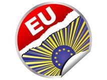 european flag Στοκ Εικόνα