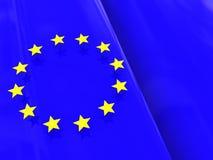European flag background Royalty Free Stock Images
