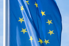 European Flag Royalty Free Stock Photography