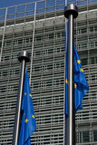 European flag brussels Stock Image