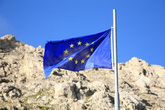 European flag Stock Photos