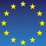 European flag. Stock Photo