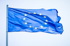 European flag Royalty Free Stock Photo