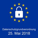 EU´s new General Data Protection Regulation stock image