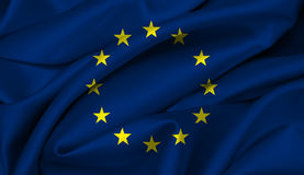 European Flag UE Royalty Free Stock Images