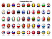 European Flags Stock Image