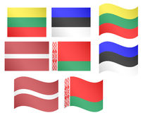 European Flags 13 Stock Photography