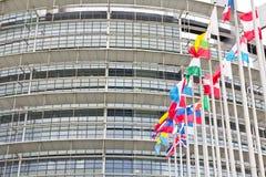 European Flags Language Stock Photo
