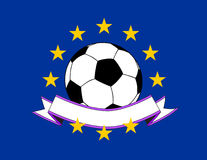 European football Royalty Free Stock Photography