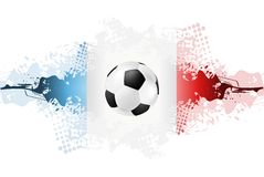 European Football Championship in France Royalty Free Stock Photos