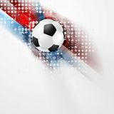 European Football Championship in France vector design Royalty Free Stock Photo