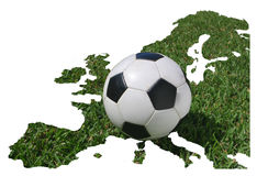European football, soccer championship 2008 Royalty Free Stock Photo