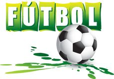 European futbol banner Stock Photo