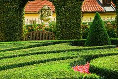 European garden Stock Photos
