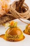 European glazed pastry Royalty Free Stock Photo