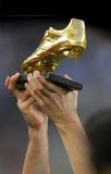 European Golden Boot Royalty Free Stock Photos