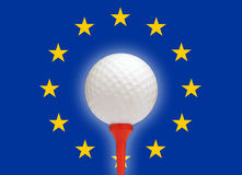 European golf Royalty Free Stock Images