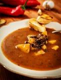 European goulash soup Royalty Free Stock Photos