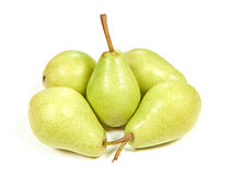 European green Pears Royalty Free Stock Photography