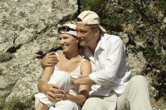 European happy couple Royalty Free Stock Photography