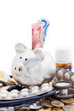 European Healthcare Costs Stock Images