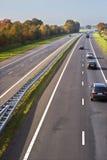 European Highway. Royalty Free Stock Photos