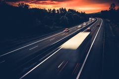 European Highway System Stock Photography