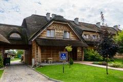 European Hotel Stock Photo