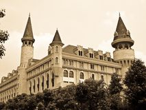 An european house in Shanghai Royalty Free Stock Images