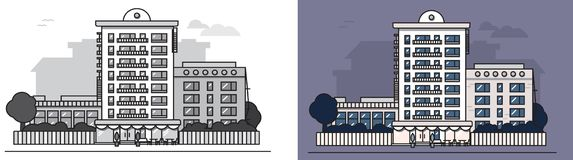 European_house royalty ilustracja