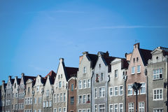 European Houses, Gdansk Poland Royalty Free Stock Images