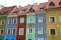 European houses Royalty Free Stock Photo