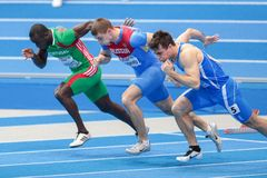European Indoor Athletics Championship 2013 Stock Photography