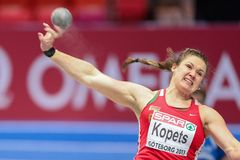 European Indoor Athletics Championship 2013 Royalty Free Stock Images