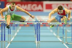 European Indoor Athletics Championship 2013 Stock Images